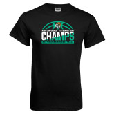 Black T Shirt-Atlantic Sun Womens Basketball Champions