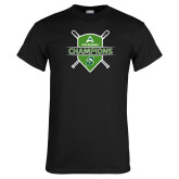 Black T Shirt-2018 Baseball Champions