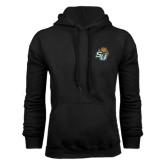 Black Fleece Hoodie-SU w/ Hat