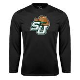 Syntrel Performance Black Longsleeve Shirt-SU w/ Hat