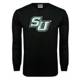 Black Long Sleeve TShirt-