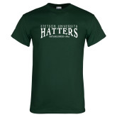 Dark Green T Shirt-Stetson University Hatters