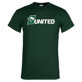 Dark Green T Shirt-Sunited