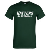 Dark Green T Shirt-Basketball