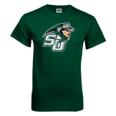 Dark Green T Shirt-SU John