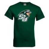 Dark Green T Shirt-SU John