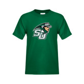 Youth Dark Green T Shirt-SU John