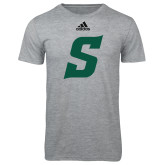 Adidas Sport Grey Logo T Shirt-Secondary Logo