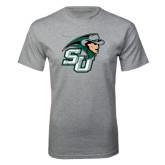 Grey T Shirt-SU John