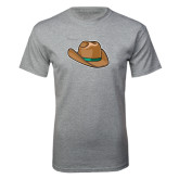 Grey T Shirt-Hat