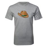 Grey T Shirt-Hat