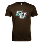 Next Level SoftStyle Brown T Shirt-