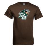 Brown T Shirt-SU John