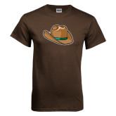 Brown T Shirt-Hat