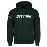 Dark Green Fleece Hood-Stetson