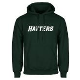 Dark Green Fleece Hood-Hatters
