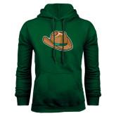 Dark Green Fleece Hood-Hat