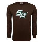 Brown Long Sleeve TShirt-