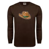 Brown Long Sleeve TShirt-Hat