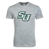 Next Level SoftStyle Heather Grey T Shirt-