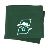 Dark Green Sweatshirt Blanket-Primary logo