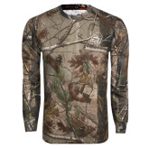 Realtree Camo Long Sleeve T Shirt w/Pocket-SU w/ Hat