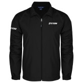 Full Zip Black Wind Jacket-Stetson
