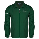 Full Zip Dark Green Wind Jacket-Stetson