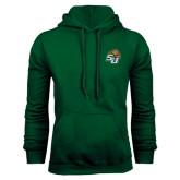 Dark Green Fleece Hood-SU w/ Hat