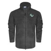 Columbia Full Zip Charcoal Fleece Jacket-SU