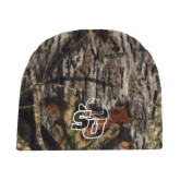 Mossy Oak Camo Fleece Beanie-SU w/ Hat