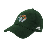 Adidas Dark Green Slouch Unstructured Low Profile Hat-SU w/ Hat