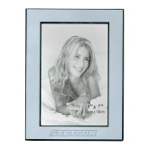 Silver Two Tone 5 x 7 Vertical Photo Frame-Stetson Engraved