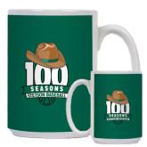 Full Color White Mug 15oz-100 Seasons of Baseball