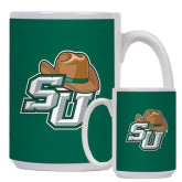 Full Color Latte Mug 12oz-SU w/ Hat