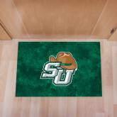Full Color Indoor Floor Mat-SU w/ Hat