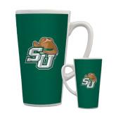 Full Color Latte Mug 17oz-SU w/ Hat