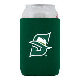 Neoprene Green Can Holder-Primary logo