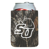 Collapsible Mossy Oak Camo Can Holder-SU w/ Hat