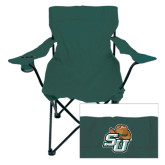 Deluxe Green Captains Chair-SU w/ Hat