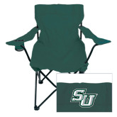 Deluxe Green Captains Chair-