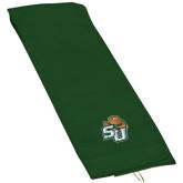 Dark Green Golf Towel-SU w/ Hat