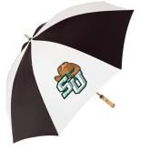 62 Inch Black/White Umbrella-SU w/ Hat