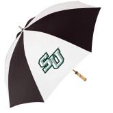 62 Inch Black/White Umbrella-