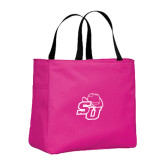 Tropical Pink Essential Tote-SU w/ Hat