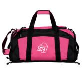 Tropical Pink Gym Bag-SU w/ Hat