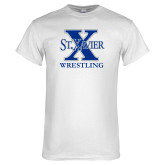White T Shirt-Wrestling