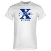 White T Shirt-Tennis