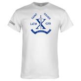 White T Shirt-Latin Club