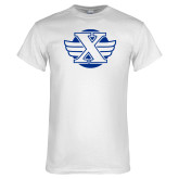 White T Shirt-Cross Country Design